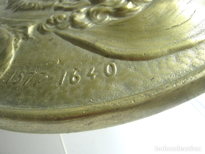 Arte: 27.5 cm - Gran tondo en bronce - P. P. Rubens 1577-1640 - Foto 2 - 181502461