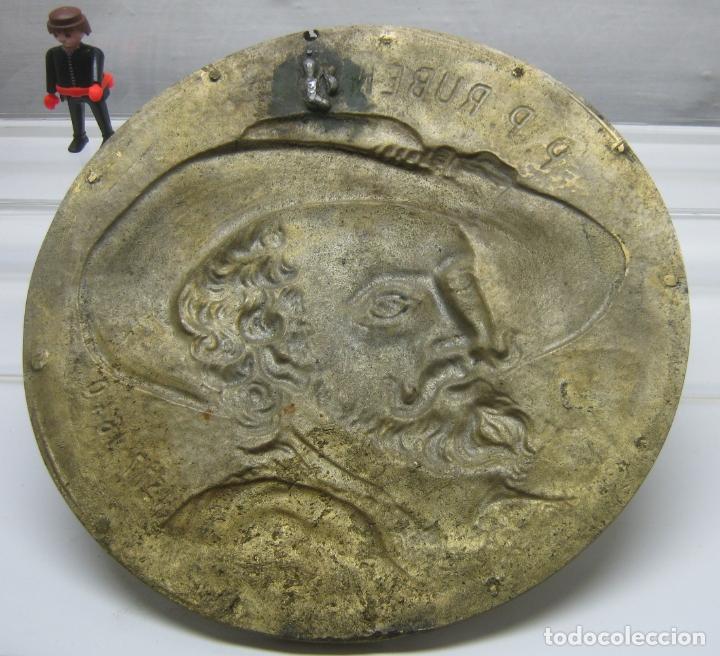 Arte: 27.5 cm - Gran tondo en bronce - P. P. Rubens 1577-1640 - Foto 4 - 181502461