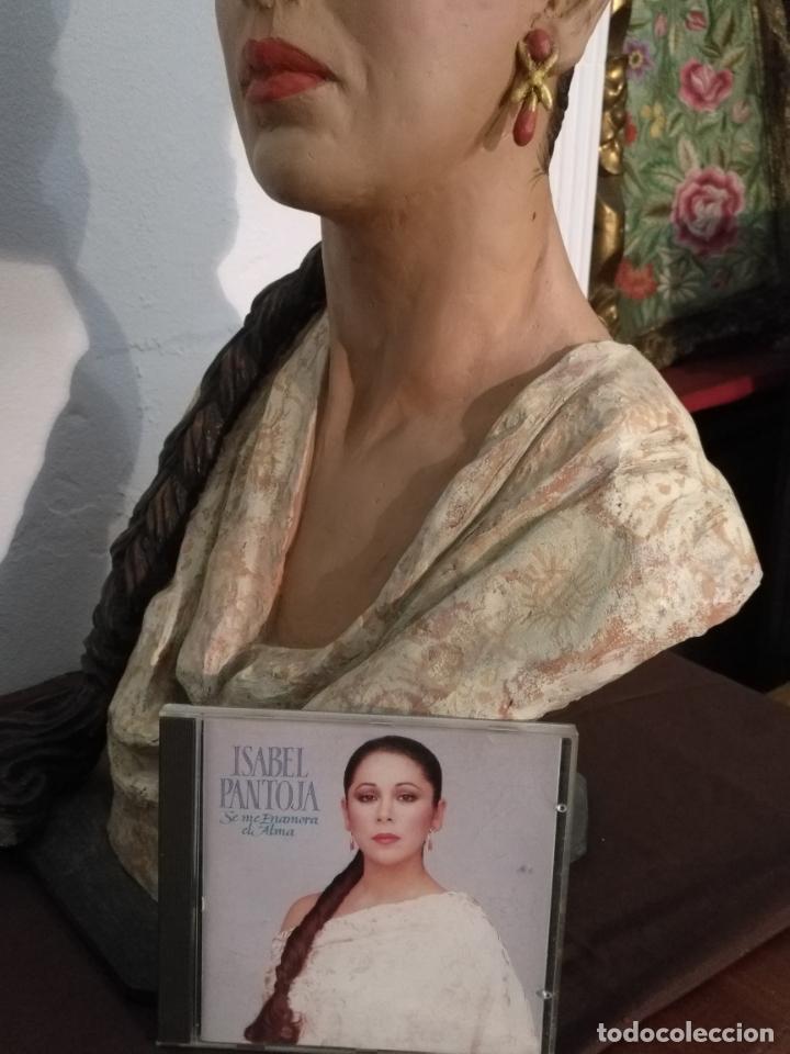 Arte: busto gran tamaño BONITA ESCULTURA DE ISABEL PANTOJA TERRACOTA barro cocido policromado, 2015 - Foto 21 - 181961441