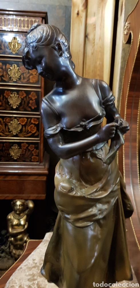 Arte: Escultura de bronce ( 61 cm ) - Foto 3 - 182083256