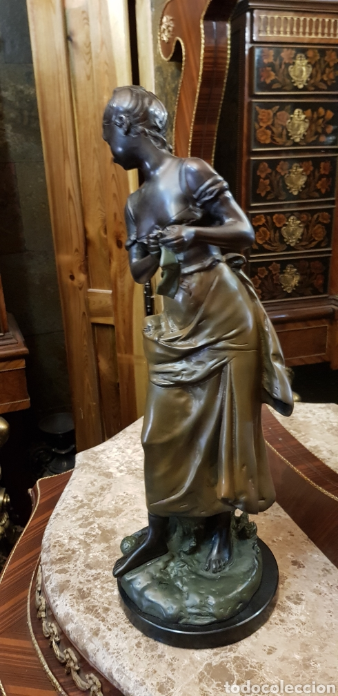 Arte: Escultura de bronce ( 61 cm ) - Foto 5 - 182083256
