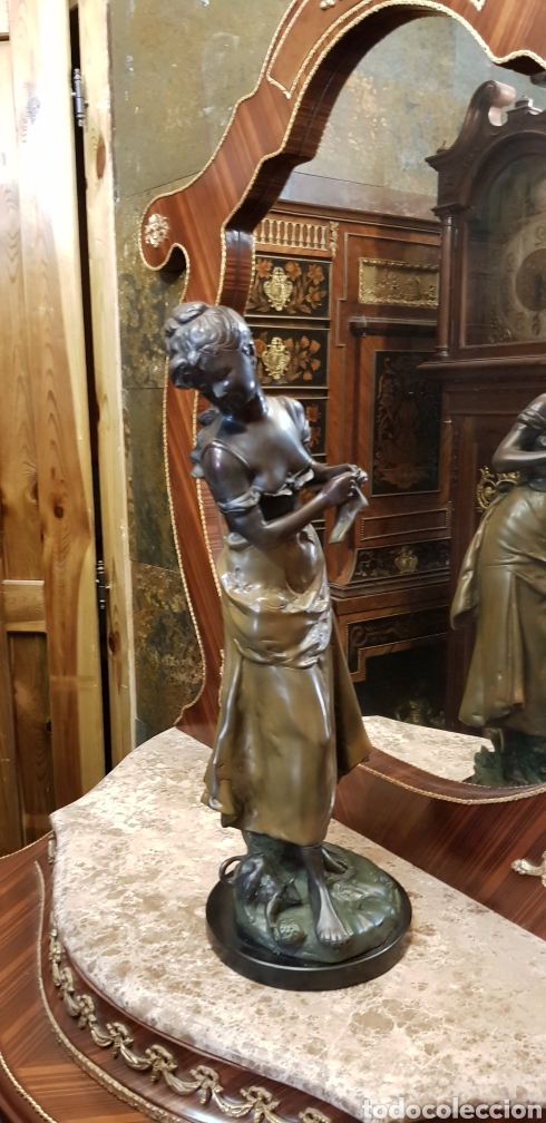 ESCULTURA DE BRONCE ( 61 CM ) (Arte - Escultura - Bronce)