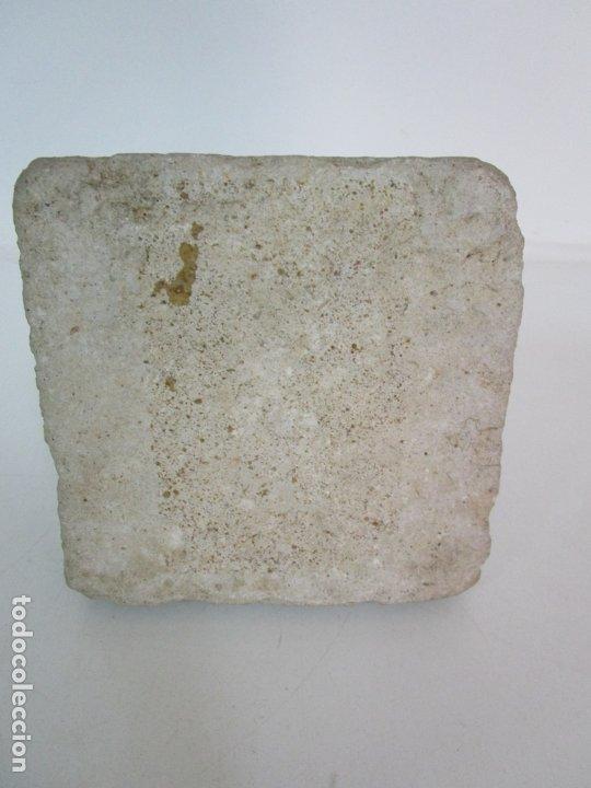 Arte: Precioso Capitel Gótico - Piedra Gerundense con Motivos Vegetales - Girona, Edad Media - S. XV - Foto 18 - 182147106