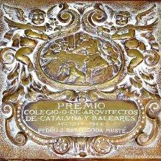 Arte: PREMIO COLEGIO DE ARQUITECTOS DE CATALUÑA Y BALEARES. PEDRO J. BASSEGODA MUSTÉ. 1944.. Lote 182584331