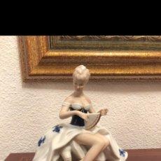 Arte: FIGURA DE PORCELANA ALEMANA. Lote 182610028