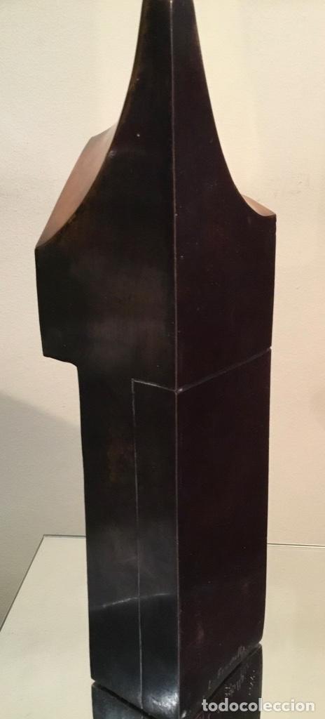 Arte: Lorenzo Frechilla, escultura bronce firmada - Foto 3 - 182674287