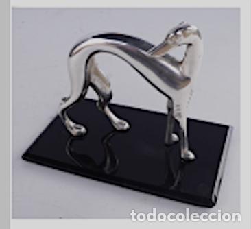 Arte: ArtDeco - Perro en bronce Franz Hagnauer - Foto 3 - 182686491