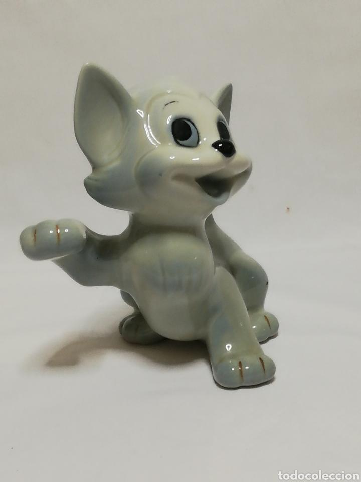 Arte: Figura gato en porcelana walt disney producción - Foto 2 - 182803591