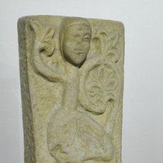 Arte: RELIEVE ZOOMORFO DE PIEDRA ESTILO ROMÁNICO. Lote 182969798
