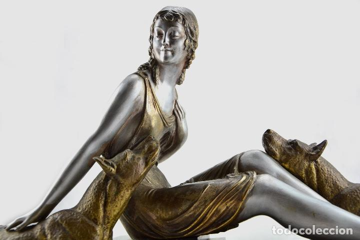 ESCULTURA DE DEMETRE CHIPARUS (Arte - Escultura - Bronce)