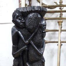 Arte: ESCULTURA DE ÉBANO AFRICANA. Lote 184060810