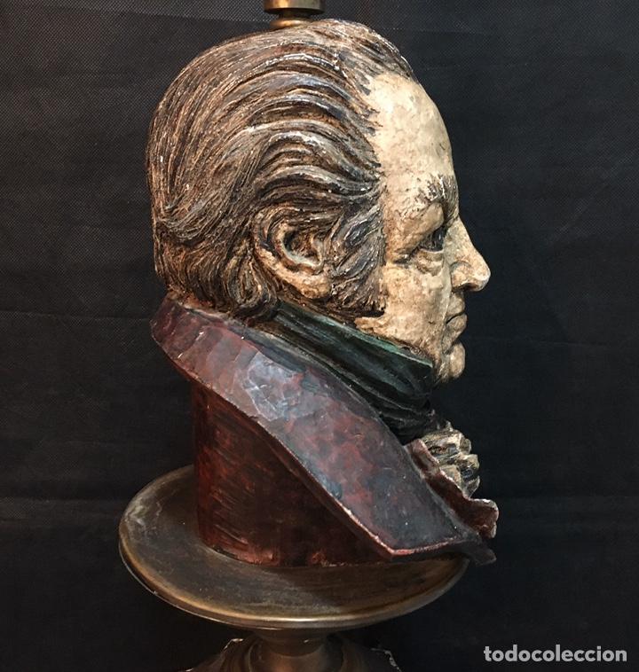 Arte: Lámpara busto de Goya antigua - Foto 9 - 184061838