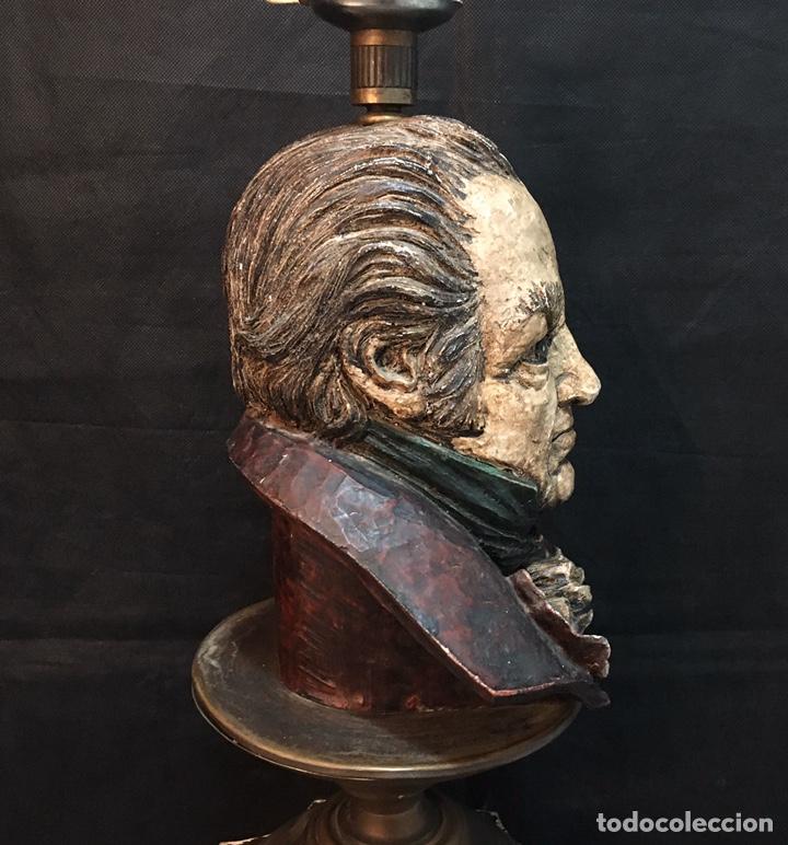 Arte: Lámpara busto de Goya antigua - Foto 10 - 184061838