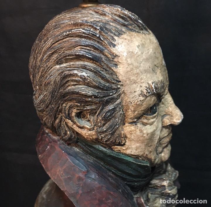 Arte: Lámpara busto de Goya antigua - Foto 11 - 184061838