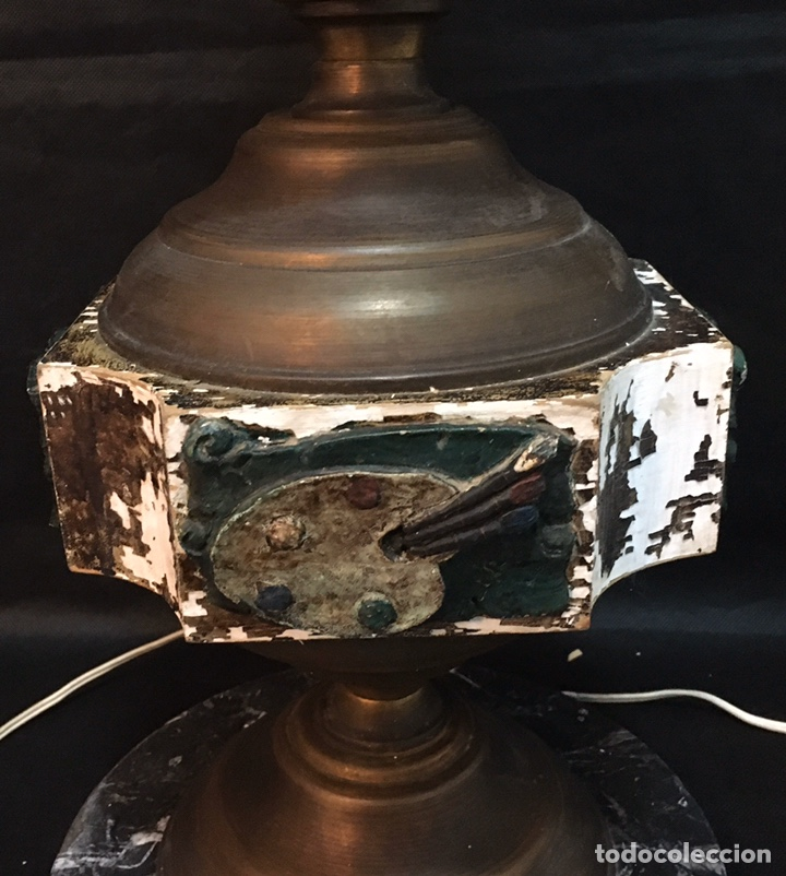 Arte: Lámpara busto de Goya antigua - Foto 24 - 184061838