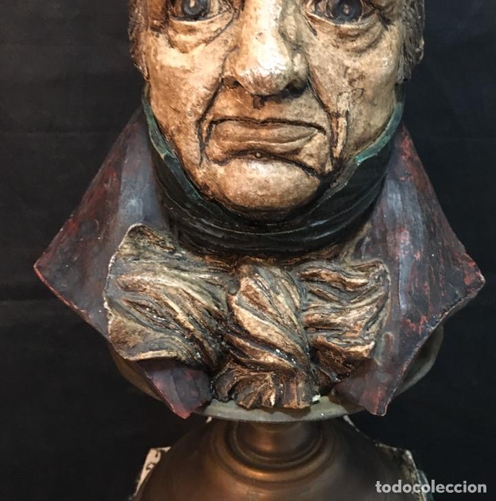 Arte: Lámpara busto de Goya antigua - Foto 28 - 184061838