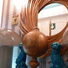 Arte: PARARAYOS EN HIERRO CON PATINA OXIDO . Lote 184139710