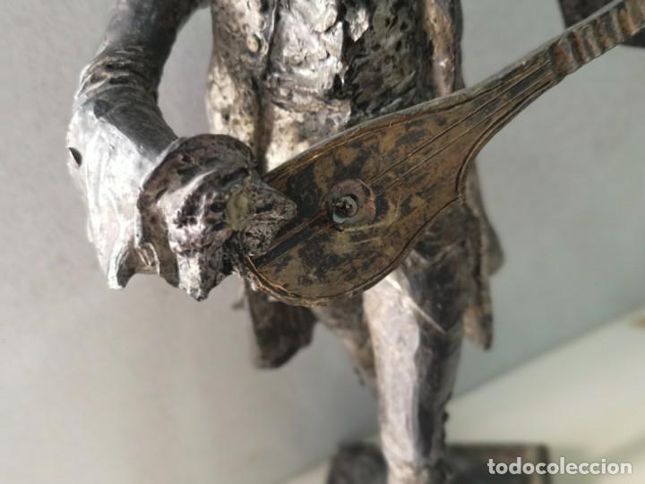Arte: Escultura en resina de Galan firmada - Foto 2 - 184238686