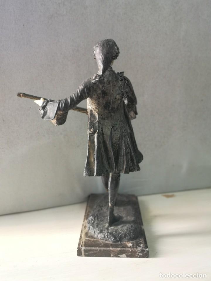 Arte: Escultura en resina de Galan firmada - Foto 4 - 184238686