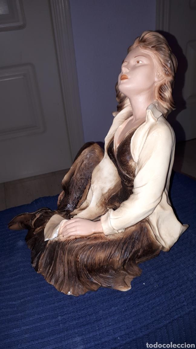 Arte: Escultura firmada ANGELES LUSUADA L.FERNANDEZ - Foto 2 - 184259472