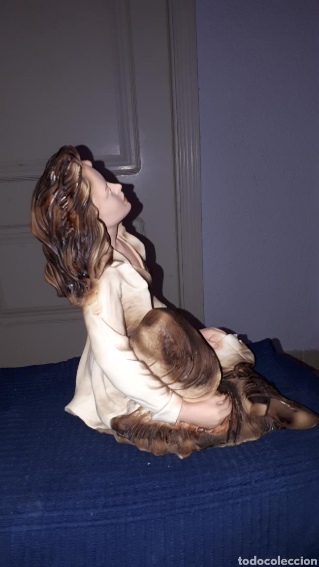 Arte: Escultura firmada ANGELES LUSUADA L.FERNANDEZ - Foto 5 - 184259472
