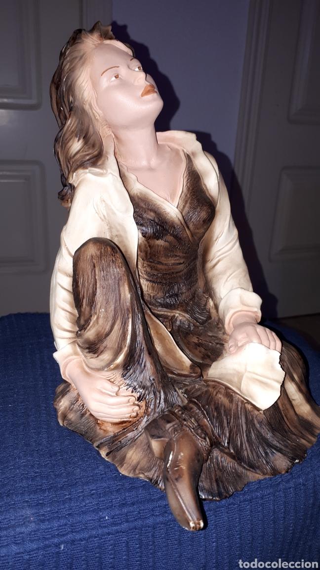 Arte: Escultura firmada ANGELES LUSUADA L.FERNANDEZ - Foto 6 - 184259472