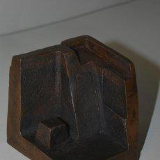 Arte: ESCULTURA EN BRONCE DE RAMÓN CALDERÓN - CIUDAD INDIA - MÓDULO Nº4 CIUDADES - 1979. Lote 184286071