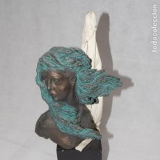 Arte: FIGURA ESCULTURA RESINA INSPIRACION. Lote 184823205
