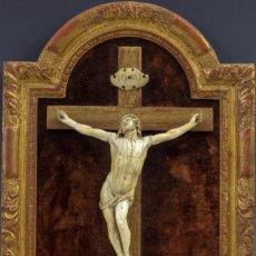 Arte: CRISTO EN MARFIL S.XVIII. Lote 186122418