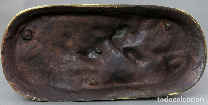 Arte: Escultura en bronce perro de caza Pierre Jules Mené firmado Francia siglo XIX - Foto 8 - 187188841