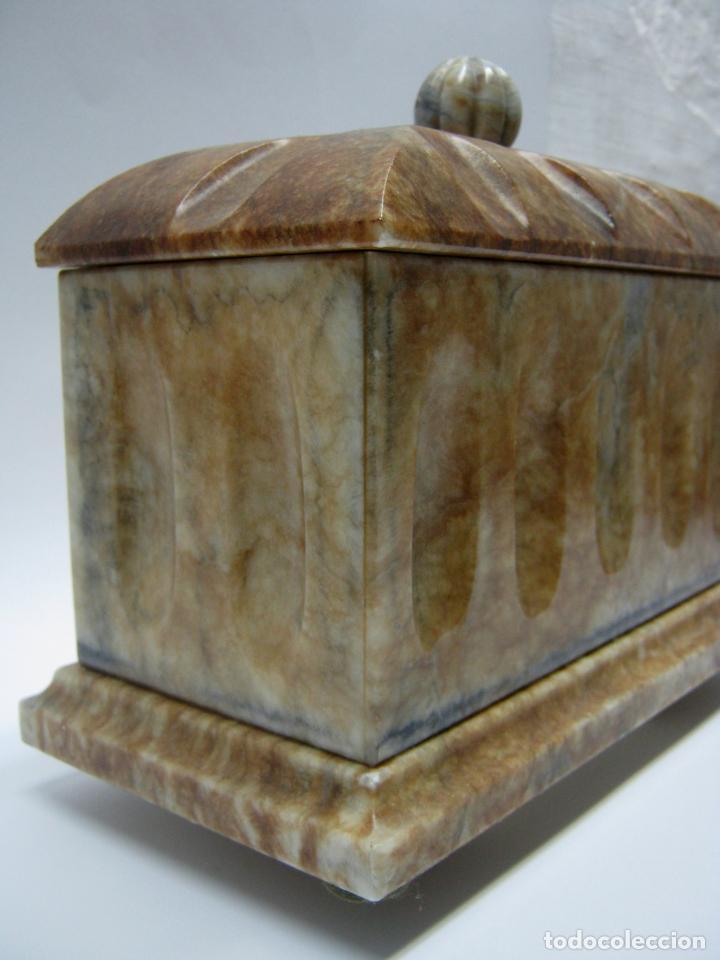 Arte: arquilla talla en bella piedra pulida marmol onix o similar - Foto 2 - 187516323