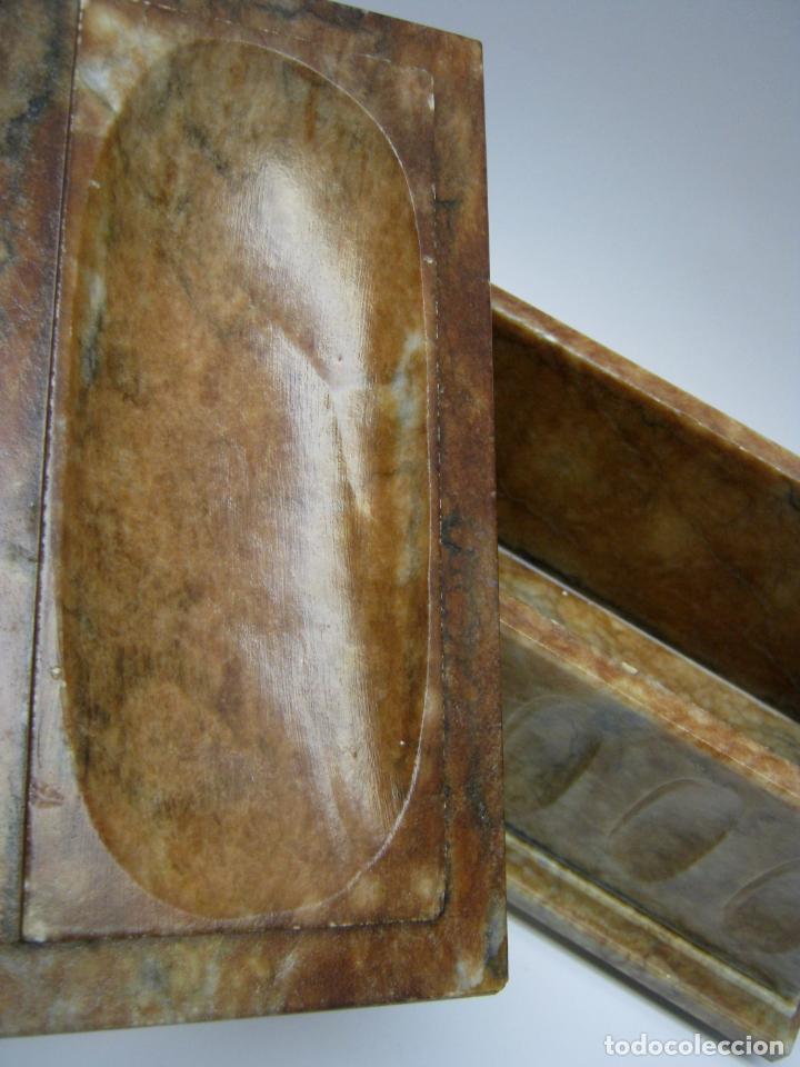 Arte: arquilla talla en bella piedra pulida marmol onix o similar - Foto 3 - 187516323