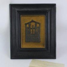 Arte: PIEZA DE BRONCE HECHA A MANO, FINALES S.XVIII.. Lote 188461410
