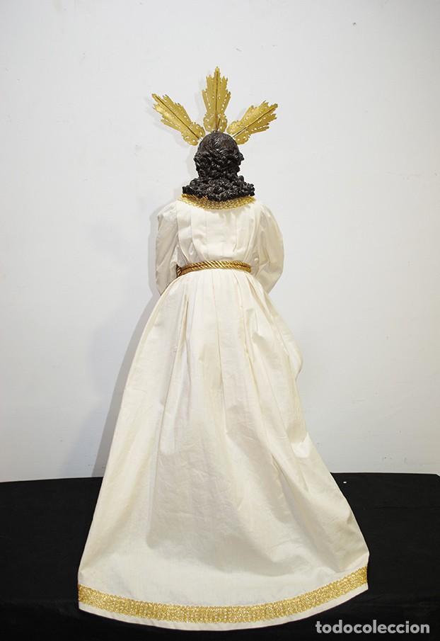 Arte: TALLA DE MADERA RELIGIOSA JESÚS CAUTIVO CON POTENCIAS - Foto 13 - 189354712