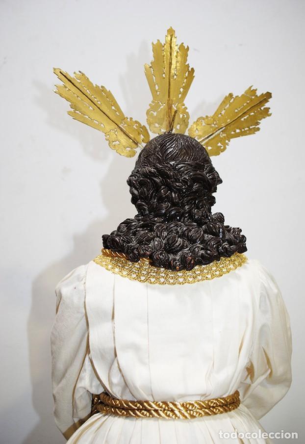 Arte: TALLA DE MADERA RELIGIOSA JESÚS CAUTIVO CON POTENCIAS - Foto 16 - 189354712