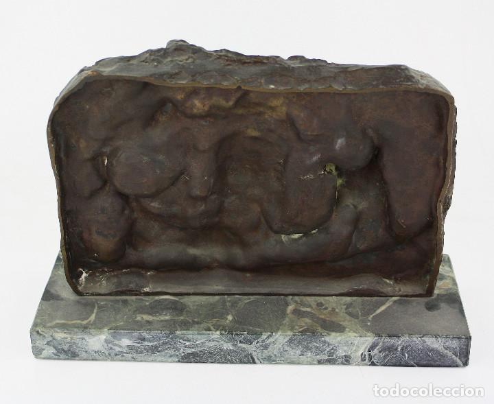 Arte: MANOLO HUGUÉ (1872-1945) ESCULTURA EN BRONCE 31x23 cm. ver fotos anexas. - Foto 5 - 189734792