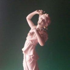 Art: FANTÁSTICO BISCUIT PARIAN DE LA ALEGORÍA A LA PRIMAVERA DE VISTA ALEGRE PORTUGAL AÑOS 30 ?. Lote 189764538