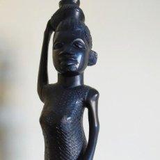 Arte: ÉBANO. TALLA MAKONDE TANZANIA. 40CM.. Lote 190059610