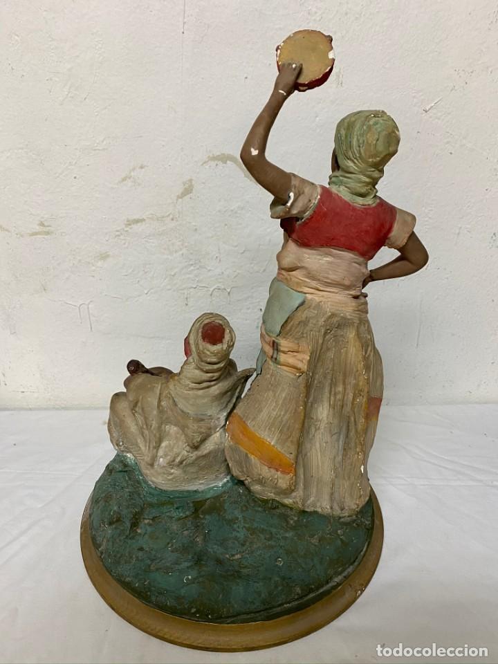 Arte: FIgura de estuco gitanos, muy antigua, preciosa. - Foto 3 - 190526585