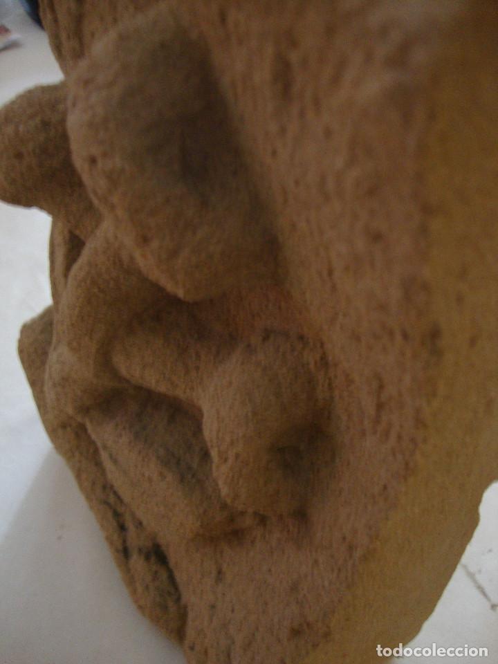 Arte: Antigua piedra arenisca tallada a mano - Foto 5 - 190736745