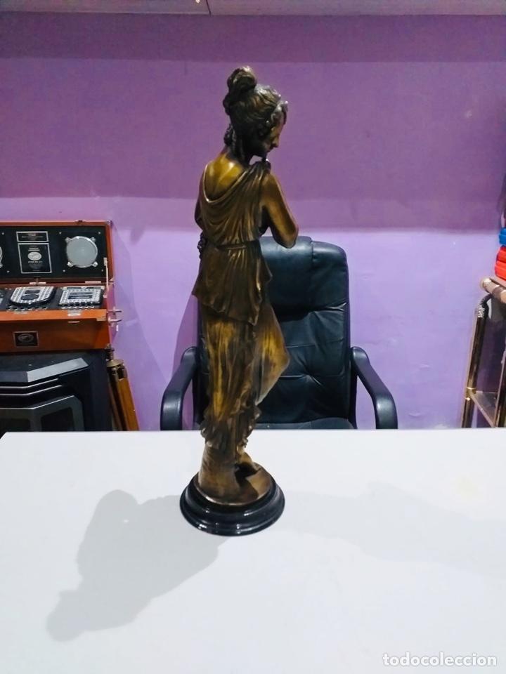 Arte: Antigua escultura resina grandes dimensiones-67 cm-ver las fotos - Foto 3 - 190877592
