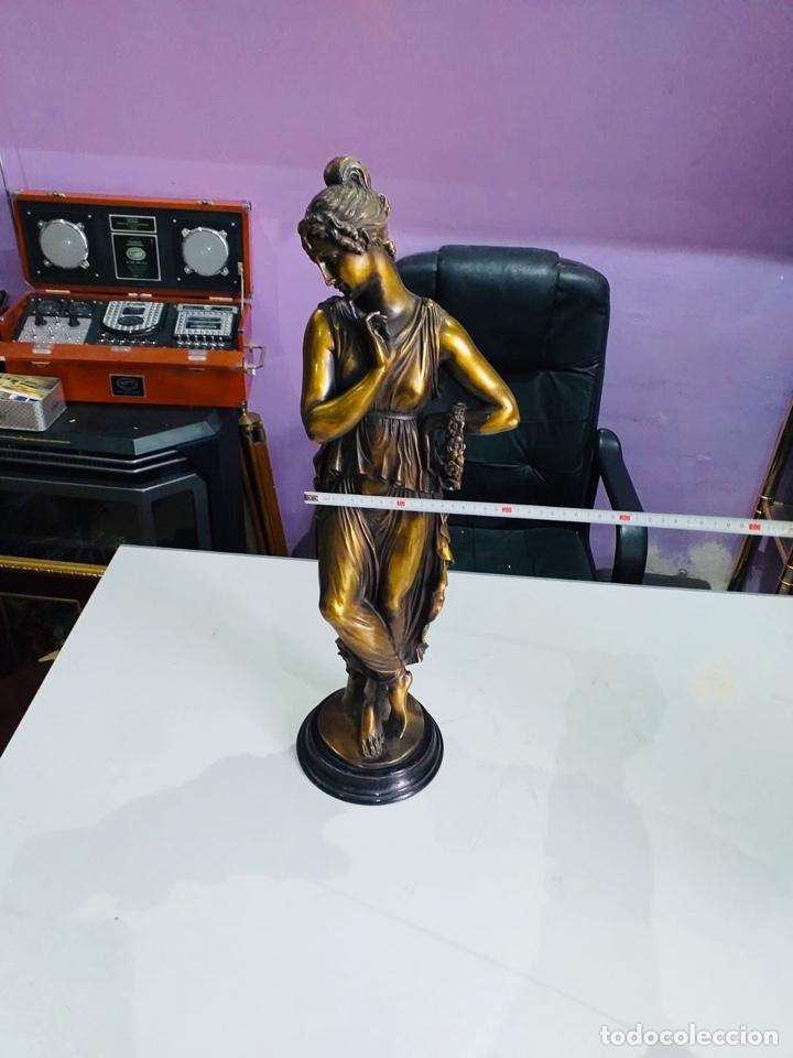 Arte: Antigua escultura resina grandes dimensiones-67 cm-ver las fotos - Foto 8 - 190877592