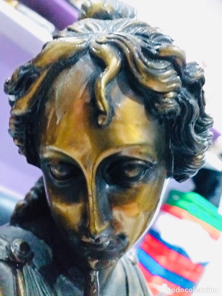 Arte: Antigua escultura resina grandes dimensiones-67 cm-ver las fotos - Foto 9 - 190877592