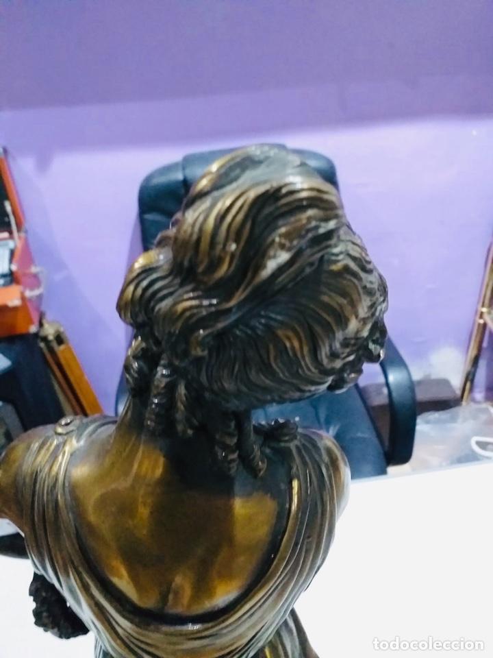 Arte: Antigua escultura resina grandes dimensiones-67 cm-ver las fotos - Foto 10 - 190877592