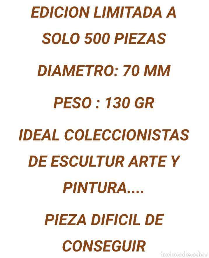 Arte: Medallon de bronce Salvador Dali - Foto 5 - 191003063