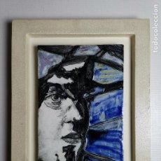 Art: OBRA CONTEMPORANEA DE LA ARTISTA BEGONYA CAMPIUS PLAFON CUADRO ESMALTADO Y DECORADO-AÑOS 90. Lote 191008452