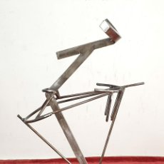 Arte: ESCULTURA EN ACERO. PREMIO PUENTES DEL MUNDO. URRUSTI. 2011. . Lote 191028163