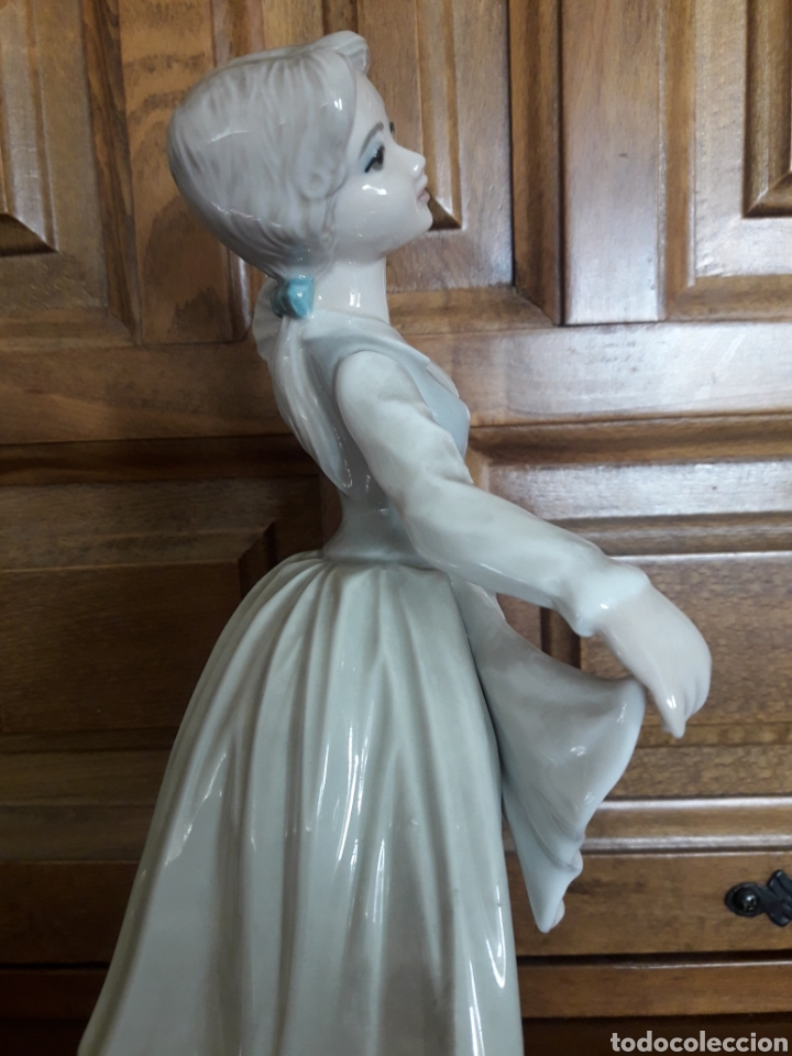 Arte: Antigua figura de porcelana Tengra - Foto 4 - 191073543