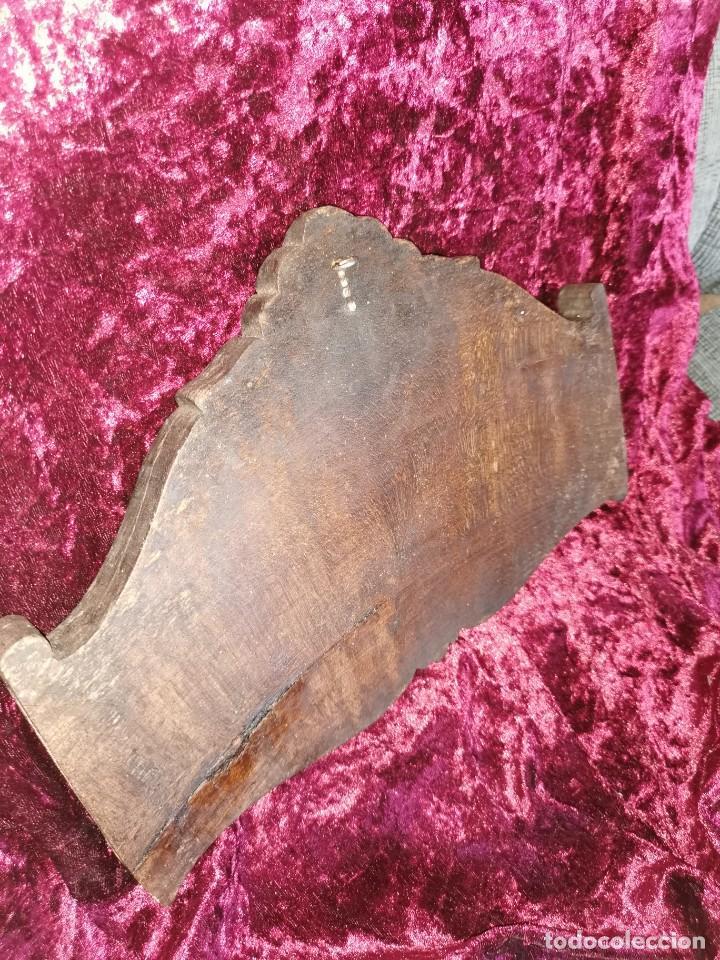 Arte: Preciosa talla sobre madera, diablo. Siglo XIX - Foto 5 - 191760463