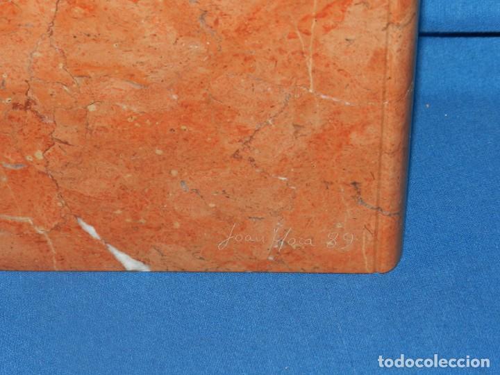 Arte: (M) ESCULTURA ORIGINAL DEL ESCULTOR REALISTA - JOAN MORA - EJEMPLAR UNICO . PIEDRA DE CALATORAO 1989 - Foto 7 - 191806558